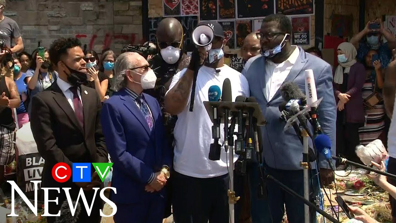 Looting 'not going to bring my brother back': Floyd on riots