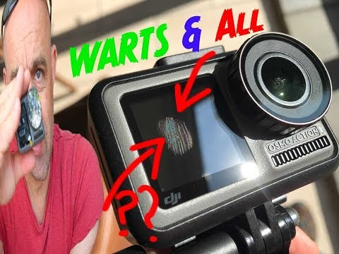 DJI Osmo Action Cam Ultimate Review:  Warts & All