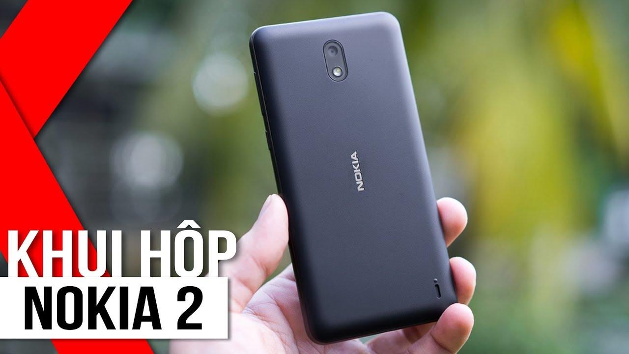FPT Shop – Khui hộp Nokia 2: Smartphone rẻ nhất nhà Nokia