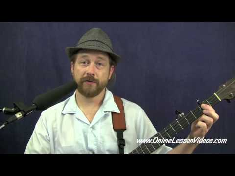 BREAKIN UP CHRISTMAS - [HD] Clawhammer Banjo Lesson with Ryan Spearman
