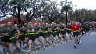 Marine Corps Boot Camp Parris Island, SC Delta Company April 1st 2011 Graduation