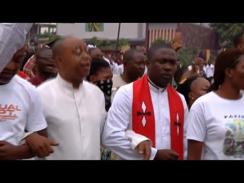 """Manifestations en RD Congo, l'archevêque de Kinshasa dénonce une répression """"barbare"""""""