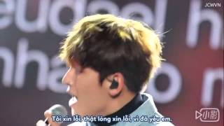 Ji Chang Wook Fanservice - JCW hát cho fan nghe ♥ [ Vietsub To the butterfly ]