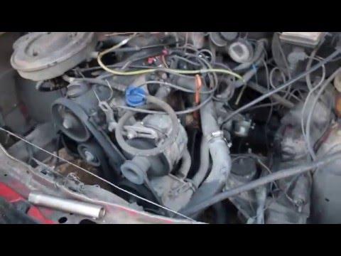 Двигатель NE 1.8л 90л.с для Audi 100 C3 и Audi 80 B3