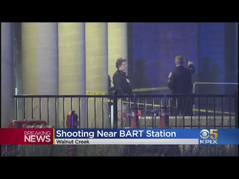Police Investigate Shooting Near Walnut Creek BART Station