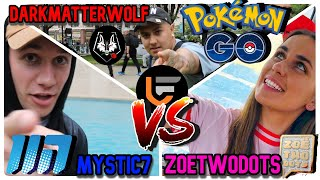 Youtuber Showdown at Chicago Go Fest with MYSTIC7, ZoeTwoDots and DarkMatterWolf | Pokemon Go PvP |