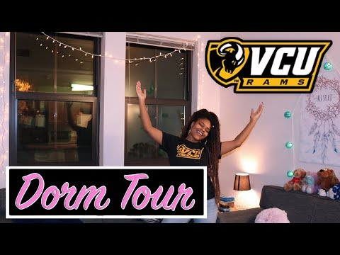 VCU College Dorm Tour 2017 - Grace and Broad