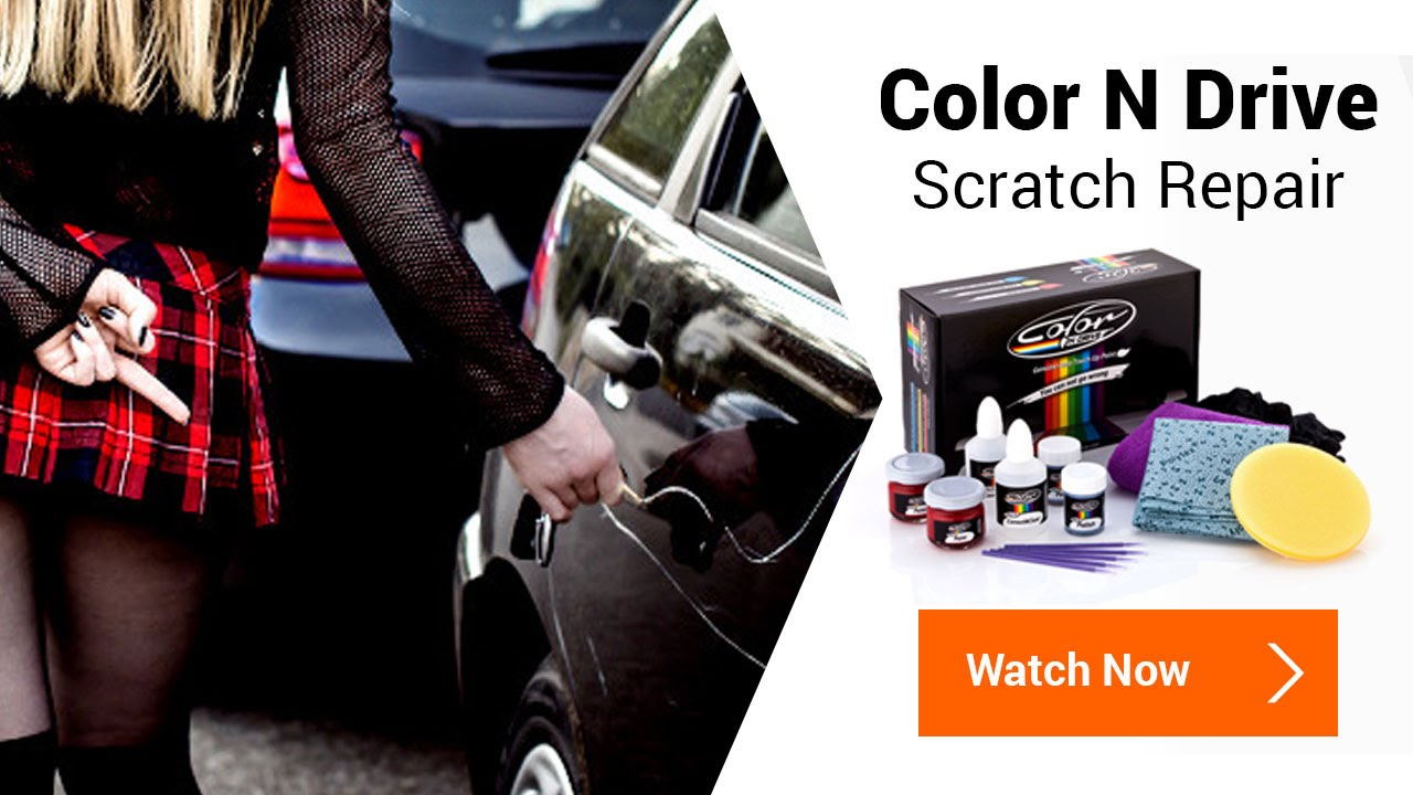 color n drive deep car scratch remover repair kit youtube. Black Bedroom Furniture Sets. Home Design Ideas