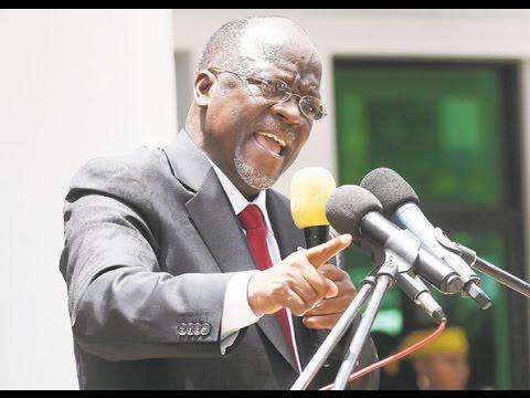 Hotuba ya Rais Magufuli chuo kikuu cha Dar es Salaam (UDSM)