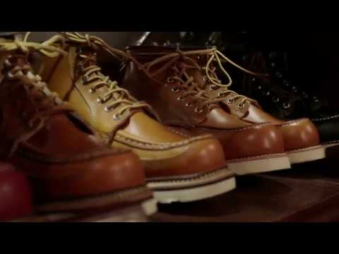 2014 REDWING 레드윙 HOW TO CLEAN VINTAGE BOOTS? [힙합퍼]