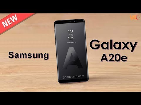 Samsung Galaxy A20e First Look, Price, Release Date, Specs, Features, Camera, Leaks, Concept