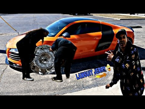 AUDI R8 GETS RIMS LAWSUIT JERRY TRlED TO PULL A FAST ONE 😂😂😂😂 Mp3