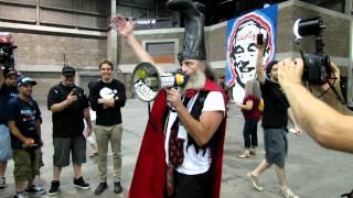 Vermin Supreme speaking at Ron Paul Festival in Tampa