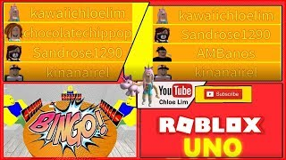 Roblox Uno! My Favourite Card Game with FRIENDS!