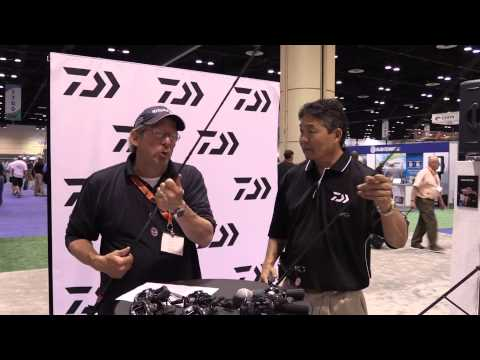 Daiwa Ardito Travel Rods At ICAST 2014