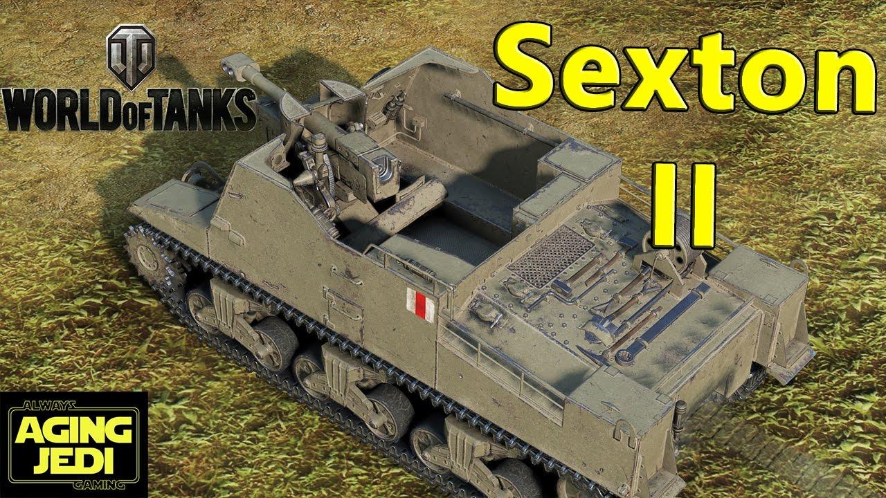 world of tanks sexton