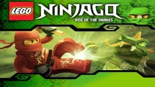 LEGO Ninjago: Rise Of The Snakes - Gameplay Video