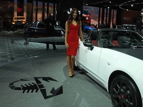 2017 FIAT 124 Spider Abarth at the North American International Auto Show Detroit 2017