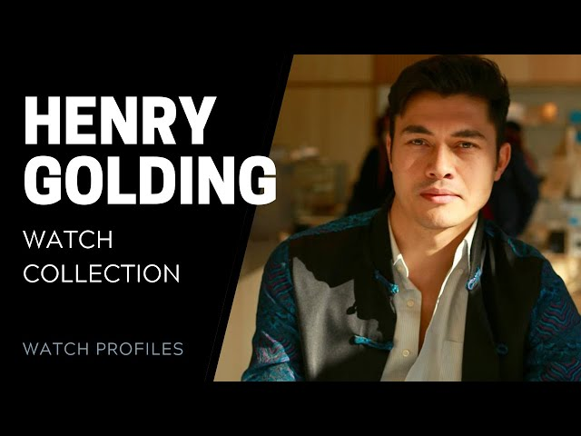 Henry Golding's Watch Collection | SwissWatchExpo [Watch Collection]