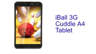 iBall 3G Cuddle A4 Tablet