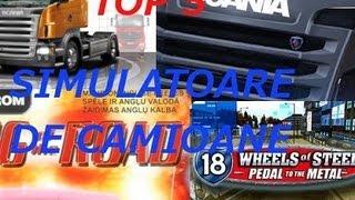 Top 5 Simulatoare de Camioane