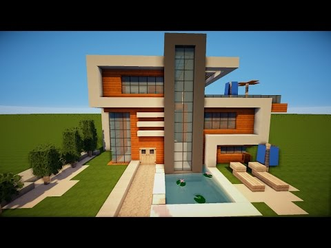 Richtig sch nes haus minecraft city build for Minecraft modernes haus jannis gerzen
