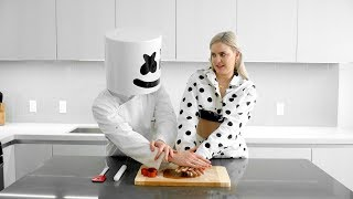 Download Cooking with Marshmello: How To Make FRIENDS Cookies (Feat. Anne-Marie) Mp3 and Videos