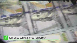 Child support and stimulus checks  Verify