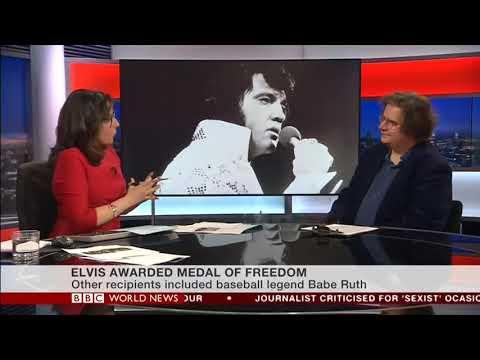 Elvis Presley Awarded Presidential Medal of Freedom  Mark Beech  on BBC World