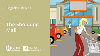 Learn English Via Listening | Beginner - Lesson 32. The Shopping Mall
