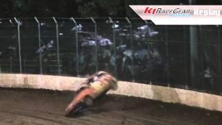 Junior Sedans: Dylan Keen Rollover - Kingaroy Speedway