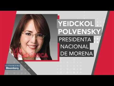 Campaña de miedo contra AMLO busca repetir el 2006:  Yeidckol Polevnsky