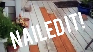 How To Replace Rotten Deck Boards Repair Wooden Deck, Treated Lumber