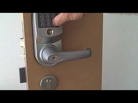 Salto XS4 Euro Mortice Latch with Panic Function (click for video)