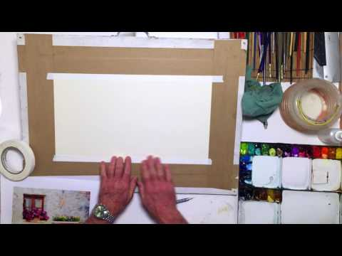 Watercolor For Beginners: An Intro To Prepping & Artists' Tape