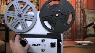 How to Use a Super-8 Projector Tutorial