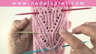 Stricken mit eliZZZa * Verschränkte Maschen und Lace-Muster