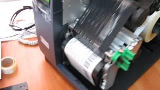 Термотрансферный принтер с внутренним смотчиком(Подробнее о термо- и термотрансферных принтерах http://globaltradenn.ru/термопринтеры.html Расходные материалы: http://global..., 2014-10-07T13:32:17.000Z)