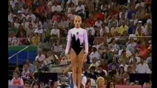 1992 Olympics - Gymnastics AA Final Part 5 - a different perspective.....
