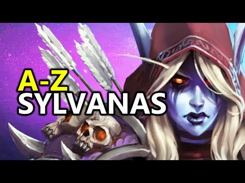 ♥ A - Z Sylvanas - Heroes of the Storm (HotS Gameplay)