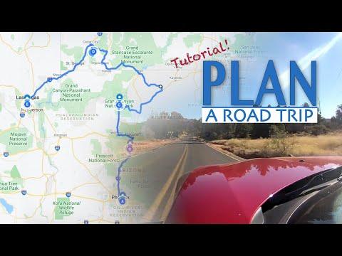 How to plan road trip w/ Google My Maps