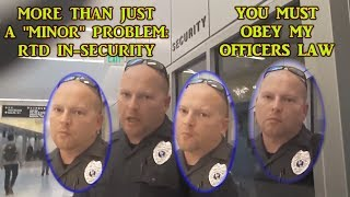 YOU'RE REFUSING TO OBEY MY OFFICER'S LAW - RULE 53 - READ IT!
