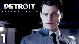 THIS GAME STARTS OFF WAY TOO INTENSE. | Detroit: Become Human | Lets Play - Part 1