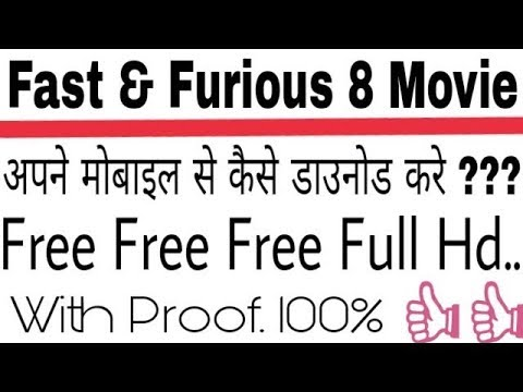 Fast and furious 8(English-Hindi) HD print  how to download!