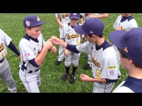 2013 Little League Baseball World Series Australia Region Champions Handshake