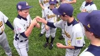 2013 Little League Baseball World Series Australia Region Champions Handshake