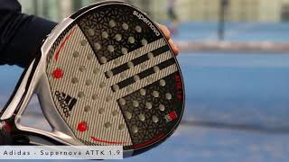 Culpa Imperial Grapa  PadelGeek review of the Adidas Supernova ATTK 1.9 - YouTube