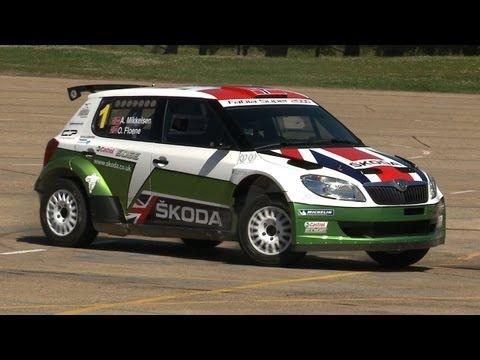 Skoda Fabia S2000 Rally Car - Will It Drift?