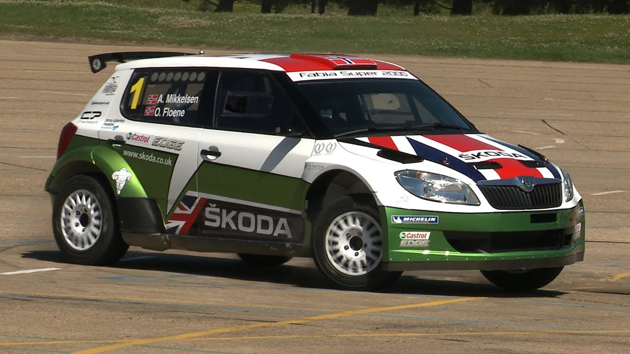 Skoda Fabia S2000 rally car - Will it Drift? - YouTube