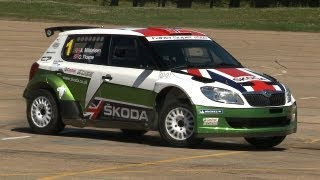 Skoda Fabia S2000 rally car - Will it Drift? thumbnail